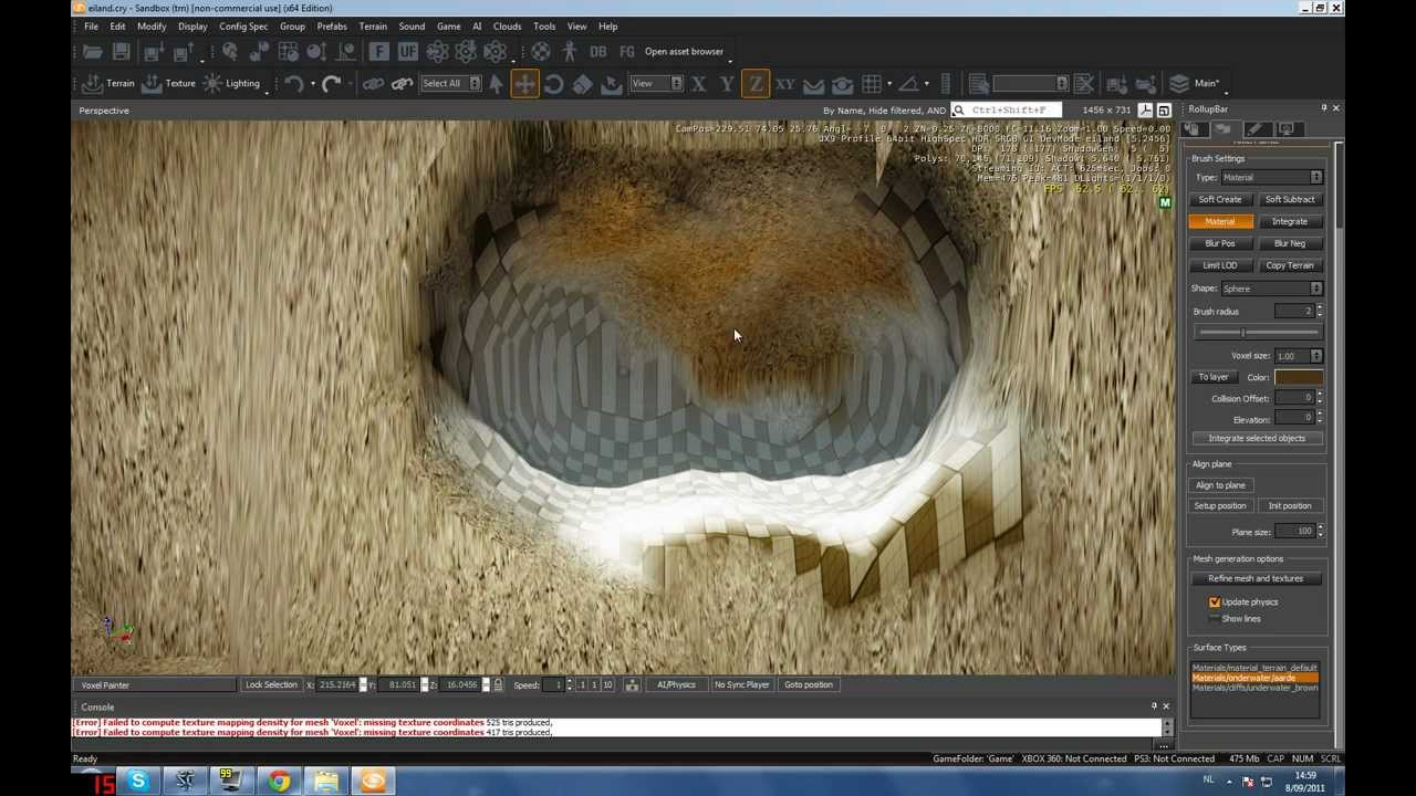 Cryengine 3 Tutorial - Creating Caves