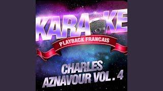 """Video thumbnail of """"Karaoké Playback Français - Camarade — Karaoké Playback Avec Choeurs — Rendu Célèbre Par Charles Aznavour"""""""