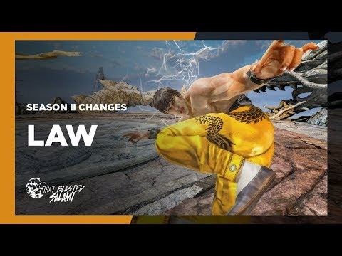 Tekken 7 - Law Season 2 Changes