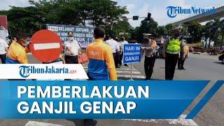 Senin Pekan Depan Beberapa Ruas Jalan di Jakarta Mulai Terapkan Ganjil Genap