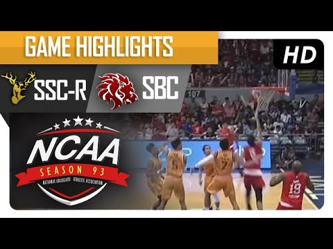 Golden Stags vs. Red Lions | NCAA 93 | MB Game Highlights | July 8, 2017