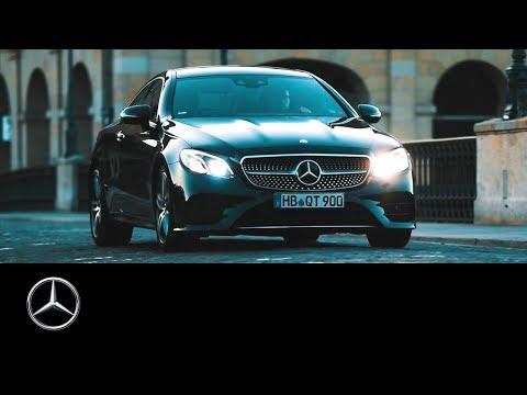 Mercedes Benz  E Class Coupe Купе класса E - рекламное видео 2