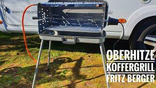 #495: Oberhitze Koffergrill von Fritz Berger - Neuauflage des legendären Cramer Grills
