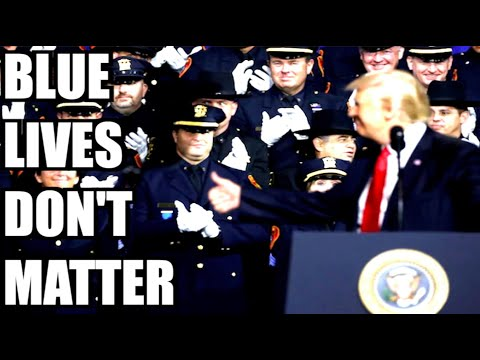 No! Blue Lives Don't Matter!