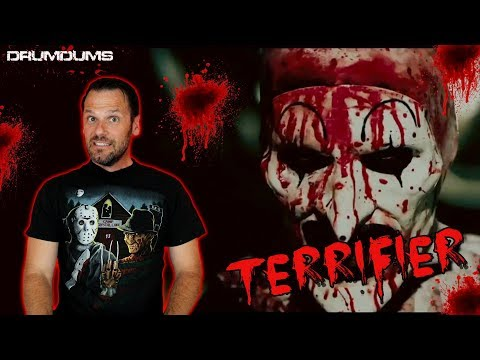 Drumdums Reviews TERRIFIER (New Clown Horror!)
