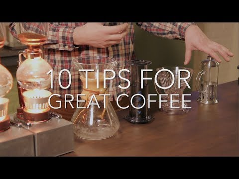 Coffee: 10 tips for great coffee