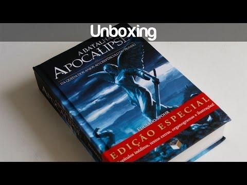 Unboxing Edição Especial de A Batalha do Apocalipse