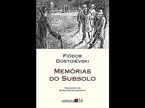 #Comentando: Memórias do subsolo (Fiódor Dostoievski)