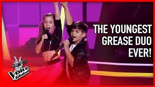 GREASE duo made coaches DANCE in The Voice | STORIES #14