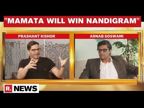 Prashant Kishor Speaks To Arnab Goswami, Claims 'BJP Will Struggle To Cross 100 Seats In Bengal'
