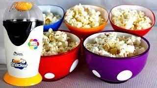 لعبة ماكينة الفشار الحقيقية الجديدة للاطفال العاب طبخ الذرة للبنات والاولاد real popcorn toy game