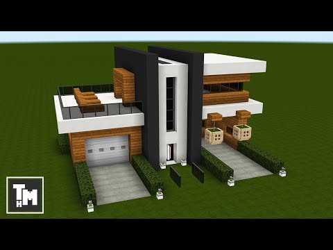 . Minecraft  How To Build a Small Modern House Easy  Episode 2  2017
