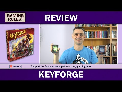 KeyForge - Gaming Rules! review
