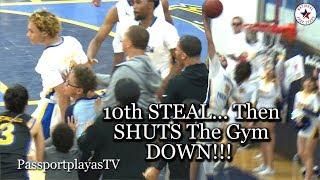 Jaelen House SHUTS The Gym DOWN w/ 10th STEAL!!! Shadow Mountain vs Buckeye