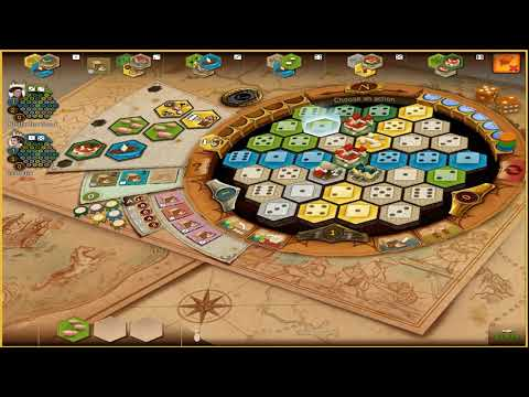 Board Game Tutorial: Learn How To Play Castles of Burgundy Part 2: The Tiles