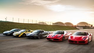 THE ULTIMATE SUPERCAR DRAG RACE - PART I