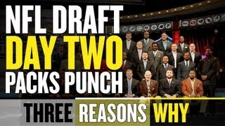 2013 NFL Draft: Day Two Laps Day One In Terms of Intrigue, Excitement thumbnail