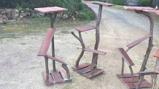 Cool Outdoor Scratching Posts, Up-Cycling Left Over Building Materials