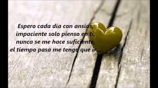 Remmy valenzuela - Espero con ansias Letra