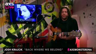 "Josh Krajcik Performs ""Back Where We Belong"" on AXS Live"
