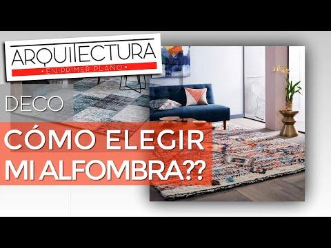 Cómo elegir una ALFOMBRA??? - DECORACIÓN DE INTERIORES