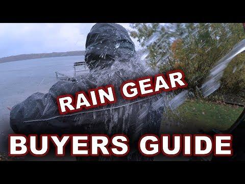 Rain Gear Buyer's Guide!