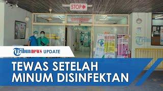 Napi Narkoba di Denpasar Meninggal setelah Tenggak Disinfektan, Sempat Ngaku Sakit Maag saat Ditanya