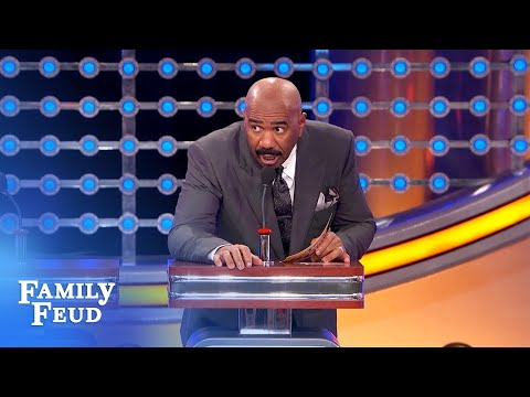 Sigh! I'll never meet a nice girl in HERE!   Family Feud