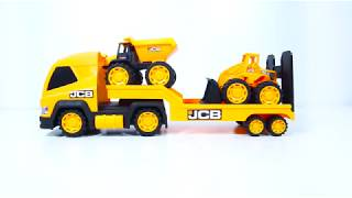Mega Transportér + nakladač a sklápěč JCB