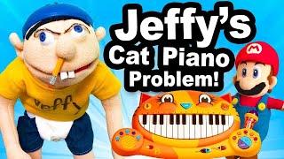 SML Movie: Jeffy's Cat Piano Problem [REUPLOADED]