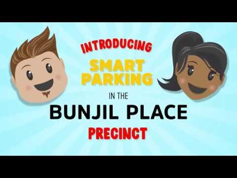 Smart Parking video at Bunjil Place