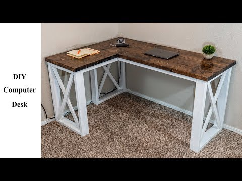 DIY Computer Desk Under $100 | Build It Better | EP. 04