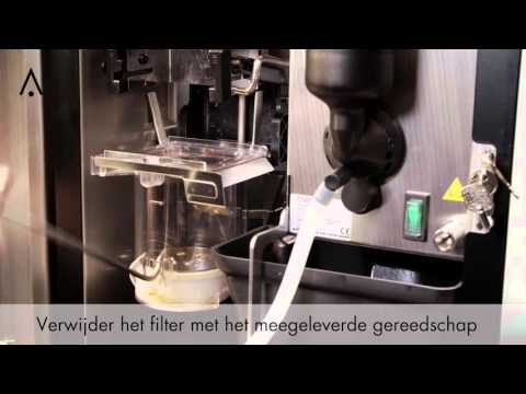 Video Animo OptiFresh NG - Vernieuw Brewerfilter
