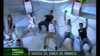 Gilberto Barros Dançando a Dança Da Minhoca No Tv bAND