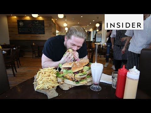 We Tried To Finish The Biggest Burger In Europe