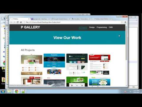 Learn how to create a responsive image gallery using jQuery Part 2