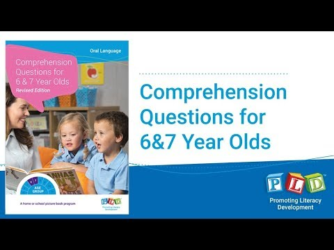 6-7 Year Old Comprehension Questions Progress Check