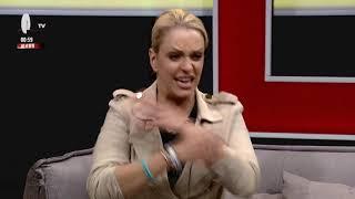 Пристигнување на Тамара Тодевска во 1ТВ