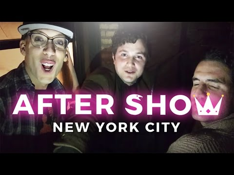 After Show - New York City - Your Christmas Is Terrible