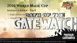 Pro Tour Oath of the Gatewatch Organized Play Announcement with Helene Bergeot