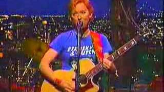 Jonatha Brooke at Letterman's