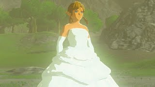 CROSS-DRESSING LINK GETS A MAKEOVER!? Runaway Bride Link (Zelda: Breath Of The Wild Mod)