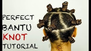 How To | Perfect Bantu Knot Out | Wet Natural Hair | Mane Choice | Hair Growth Challenge