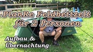 PlanRe Feldbettzelt für 2 Personen