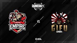 Team Empire vs. GiFu eSports – Clubhouse – Rainbow Six Pro League – Season X – EU