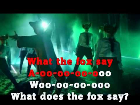 Ylvis - What does the Fox say lyrics & music video (видео)