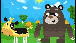 Машины сказки Бычок смоляной бочок - интерактивная сказка из серии Маша и Медведь