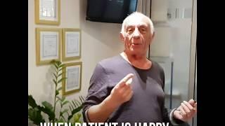 Patient Is Dancing In Dental Clinic (Dental Humor)