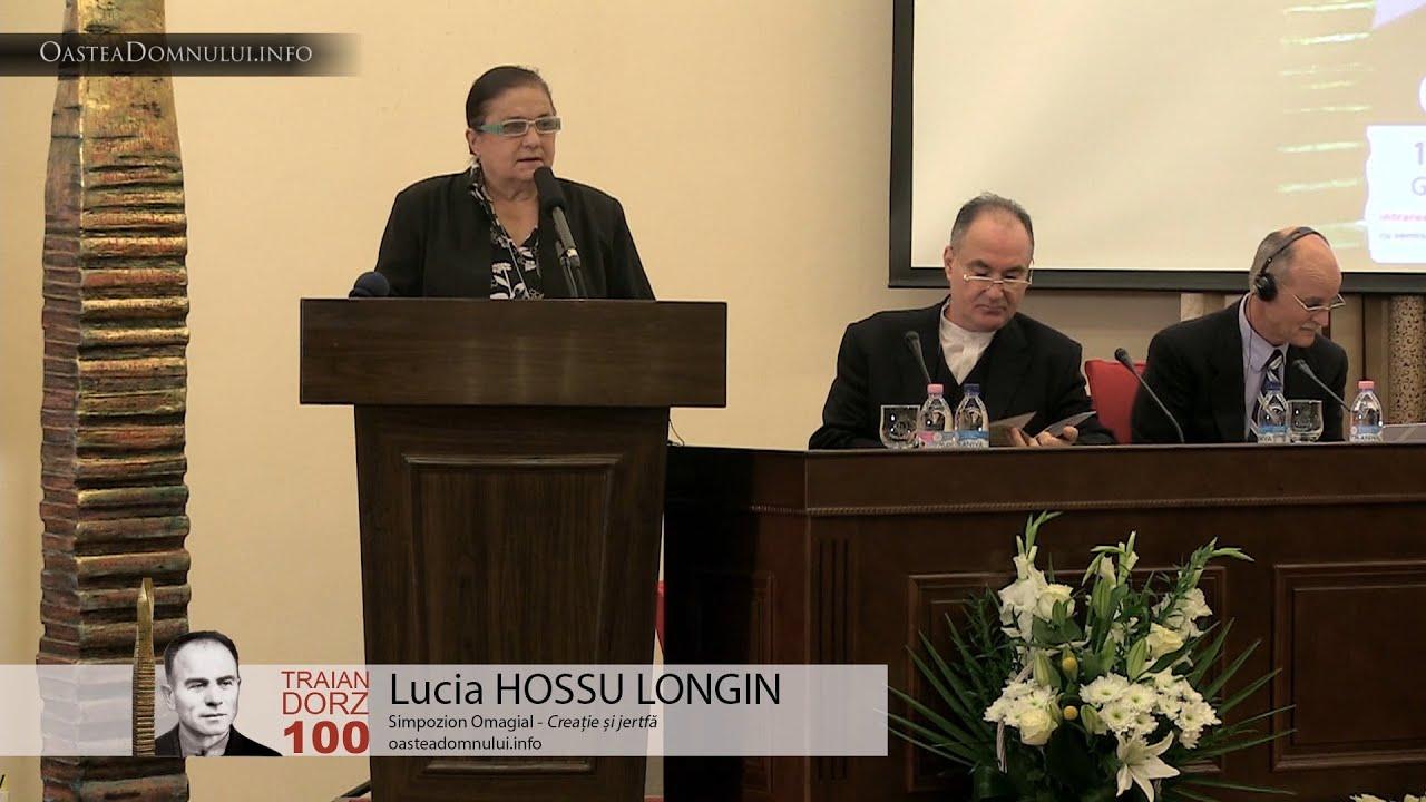 Lucia HOSSU LONGIN – Simpozion Omagial Traian Dorz 100 – Cluj, 12 sept. 2013
