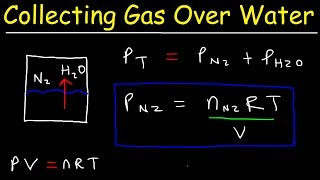 Collecting Gas Over Water Practice Problems - Chemistry Gas Laws